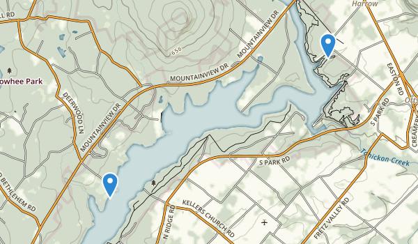 Nockamixon State Park Map