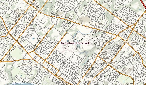 Norristown Farm Park Map