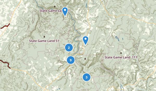 Ohiopyle State Park Map