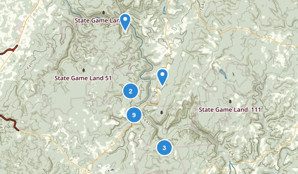 Ohiopyle State Park Map