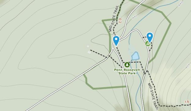 Parque Estatal Penn-Roosevelt Map