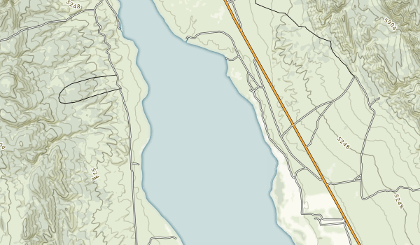 Yuba State Park Map