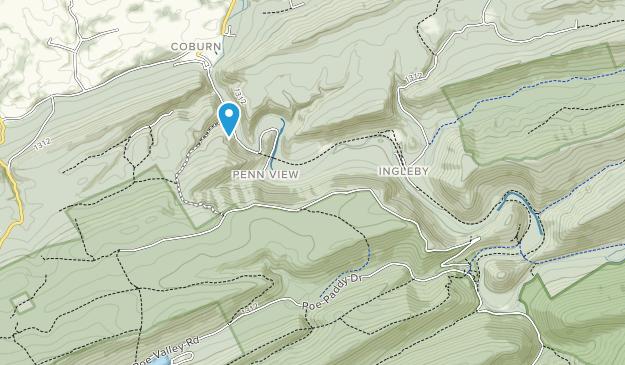 Parque Estatal Poe Paddy Map