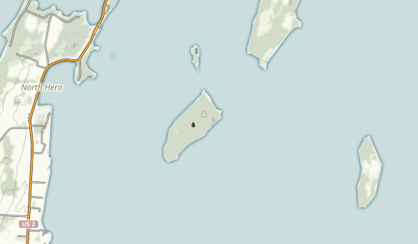 Knight Island State Park Map