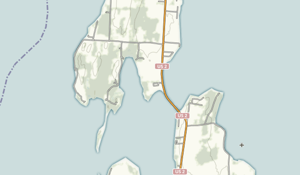 Knight Point State Park Map