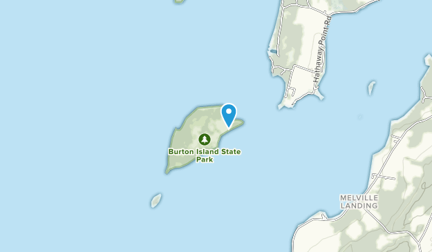 Burton Island State Park Map