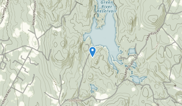 trail locations for Green River Reservoir State Park