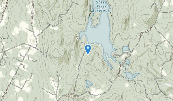 Green River Reservoir State Park Map