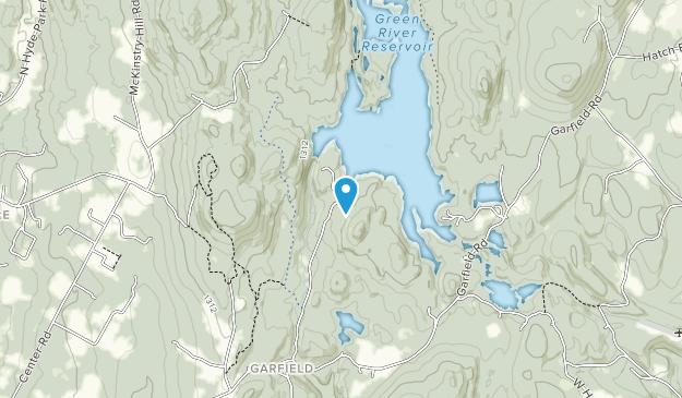 Parque Estatal Green River Reservoir Map