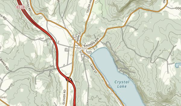 Crystal Lake State Park Map