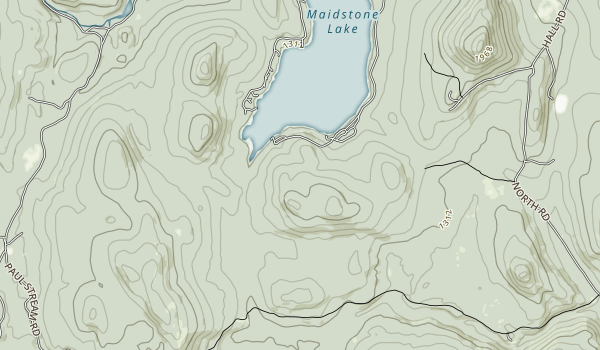 Maidstone State Park Map