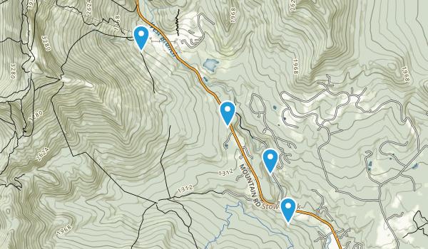 Smugglers' Notch State Park Map