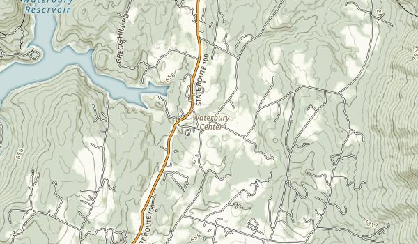 Waterbury Center State Park Map