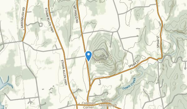 Mt. Philo State Park Map