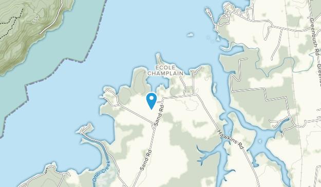 Kingsland Bay State Park Map