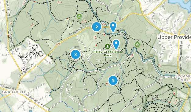 Best Trails in Ridley Creek State Park - Pennsylvania | AllTrails on clinton county map, cedar creek state park map, oil creek state park map, pennsylvania map, raccoon creek state park map, crooked creek state park map, white clay creek state park map, ridley creek state park map, tioga state forest map, french creek state park map, clear creek state park map, sproul state forest map, deer creek state park map,
