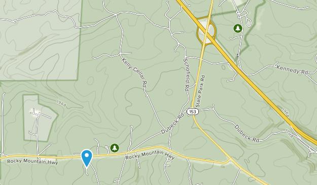 S.B. Elliott State Park Map