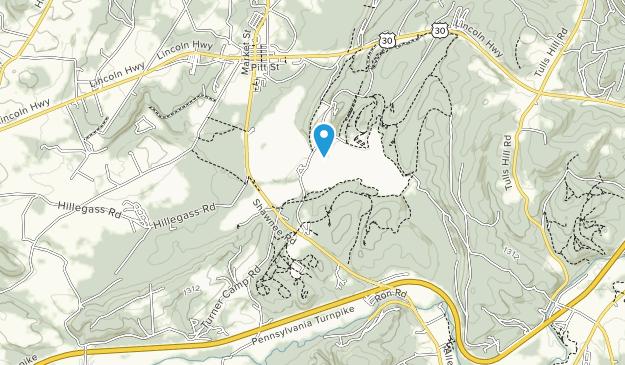 Shawnee State Park Map