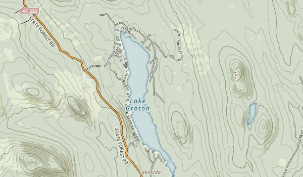 Boulder Beach State Park Map