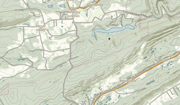 Tuscarora State Park Map