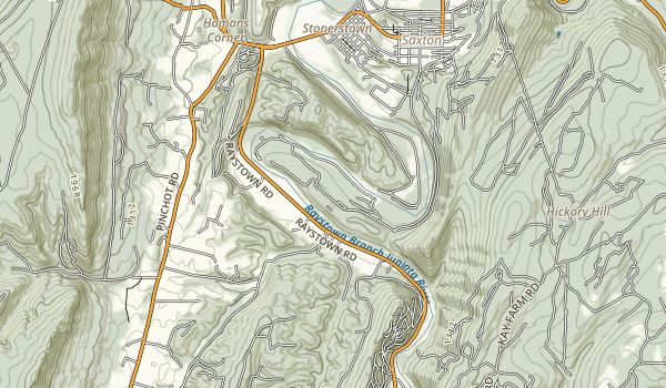 Warriors Path State Park Map
