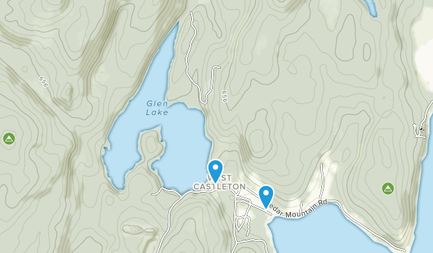 Bomoseen State Park Map