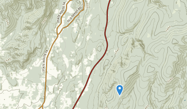 Shaftsbury State Park Map