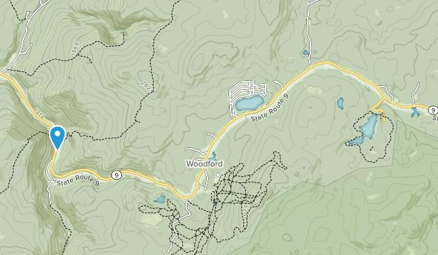 Parque Estatal Woodford Map