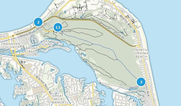 Parque Estatal First Landing Map