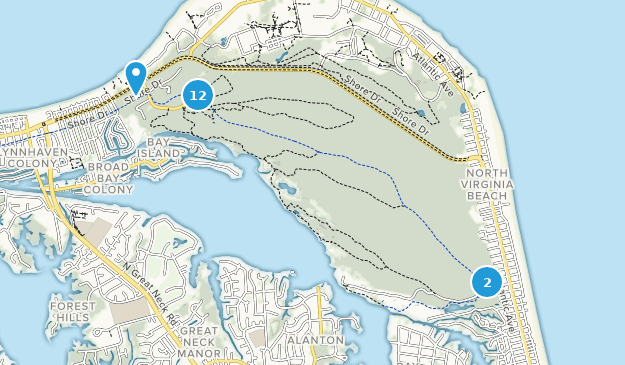 Beste Wege in First Landing State Park - Virginia | AllTrails
