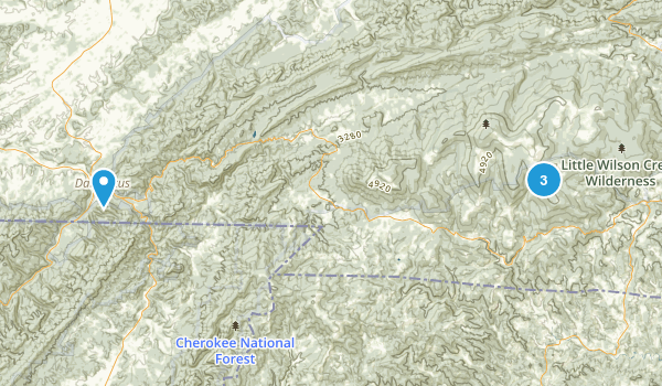 Grayson Highlands State Park Map