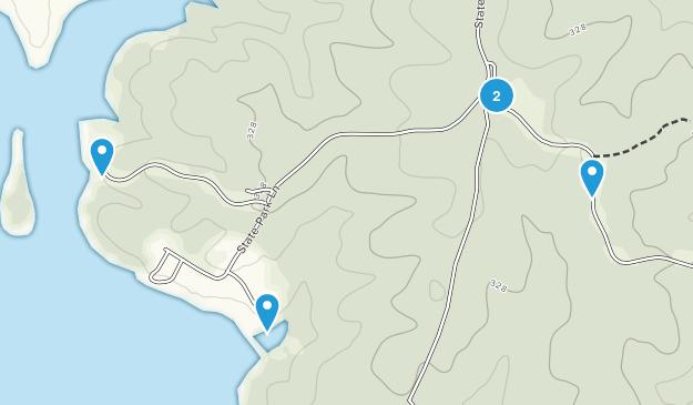 Lake Anna State Park Map