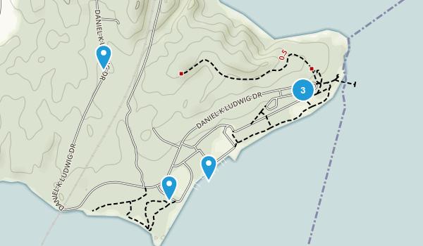 Leesylvania State Park Map