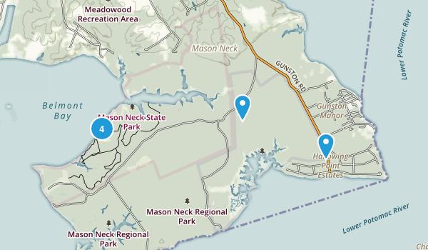 Mason Neck State Park Map