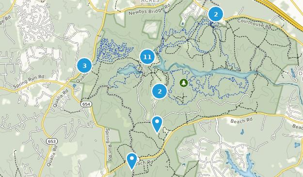 Beste Wege in Pocahontas State Park - Virginia | AllTrails