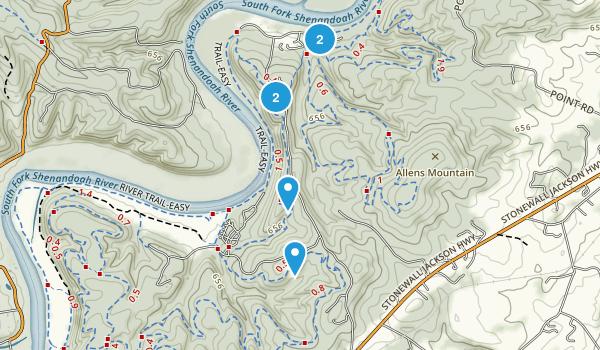 Shenandoah River State Park Map