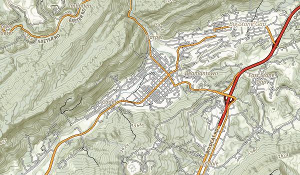 Southwest Virginia Museum Map