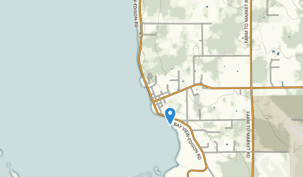 trail locations for Bay View State Park