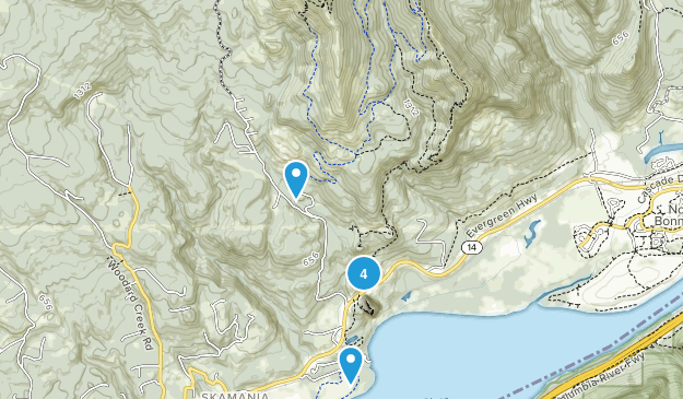 Beacon Rock State Park Map