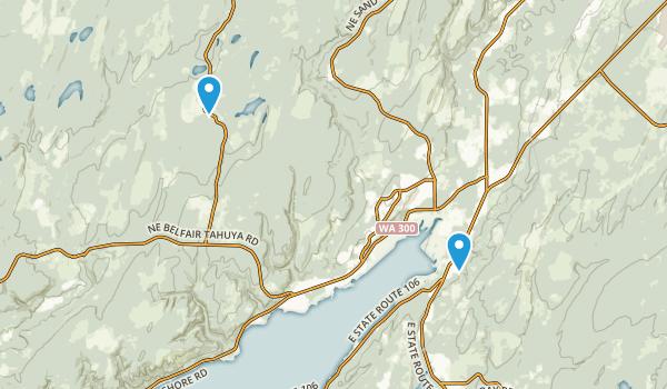 Belfair State Park Map