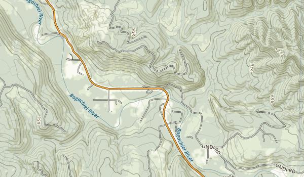 Bogachiel State Park Map