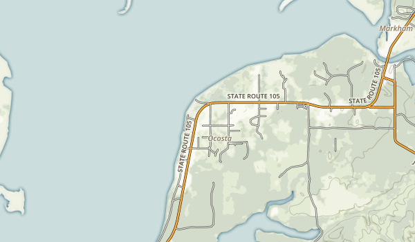 Bottle Beach State Park Map