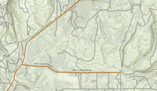 Brooks Memorial State Park Map