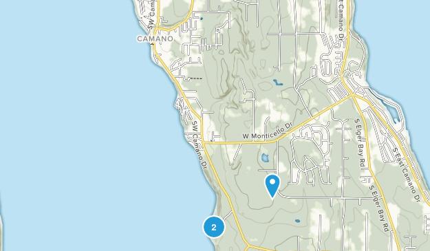 Cama Beach State Park Map