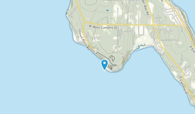 Camano Island State Park Map