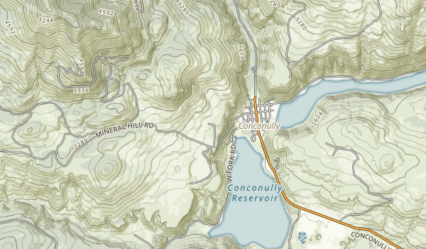 Conconully State Park Map