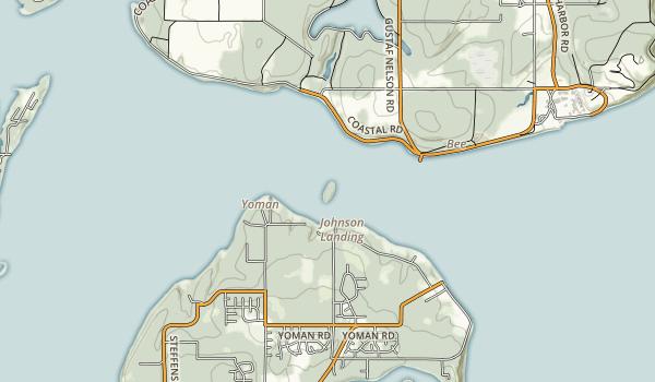 Eagle Island Map
