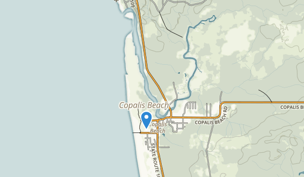 Griffiths-Priday Ocean State Park Map
