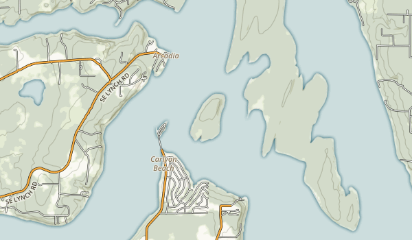 Hope Island State Park Map