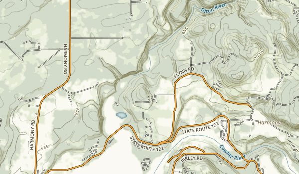 Ike Kinswa State Park Map